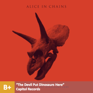 Alice In Chains - %22The Devil Put Dinosaurs Here%22 with score