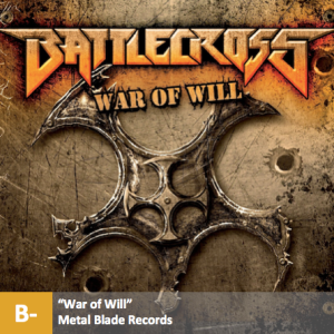Battlecross - %22War of Will%22 with score