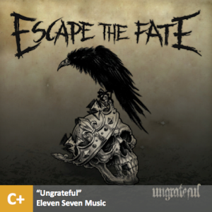 Escape the Fate - %22Ungrateful%22 with score