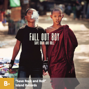 Fall Out Boy - %22Save Rock and Roll%22 with score