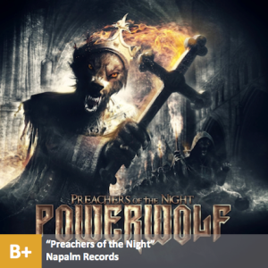 Powerwolf - %22Preachers of the Night%22 with score