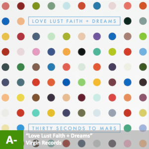 Thirty Seconds to Mars - %22Love Lust Faith + Dreams%22 with score