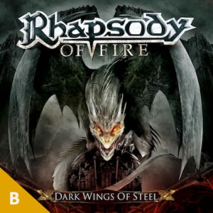 Rhapsody of Fire - Dark Wings of Steel (with score)